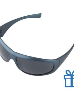 Zonnebril UV400 blauw bedrukken