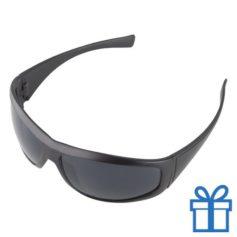 Zonnebril UV400 zwart bedrukken