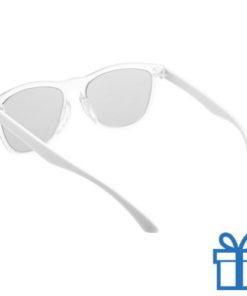 Zonnebril op maat deel 2 wit bedrukken
