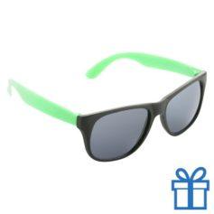 Zonnebril promotie groen bedrukken