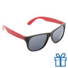 Zonnebril promotie rood bedrukken