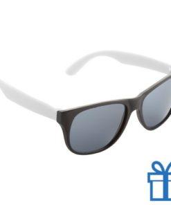 Zonnebril promotie wit bedrukken