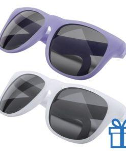 Zonnebril veranderend kleureffect blauw bedrukken