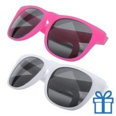 Zonnebril veranderend kleureffect roze bedrukken