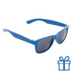 Zonnebril voor kinderen blauw bedrukken