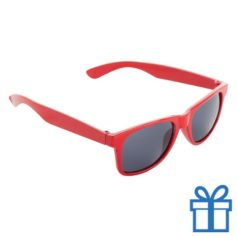 Zonnebril voor kinderen rood bedrukken
