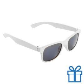 Zonnebril voor kinderen wit bedrukken
