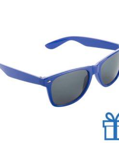 Zonnebril wayfarer budget blauw bedrukken