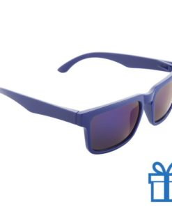 Zonnebril wayfarer goedkoop blauw bedrukken
