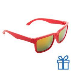 Zonnebril wayfarer goedkoop rood bedrukken