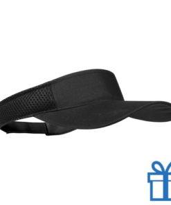 Zonnescherm koord klittenband zwart bedrukken