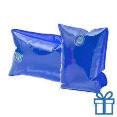 Zwembandjes blauw transparant bedrukken
