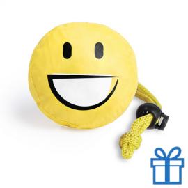 Opvouwbare shopper emoij smile